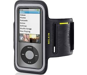 BELKIN-DualFit-Sport-Armband-Gym-Case-for-iPod-Nano-5G-5th-GEN-Caviar-F8Z514-NU