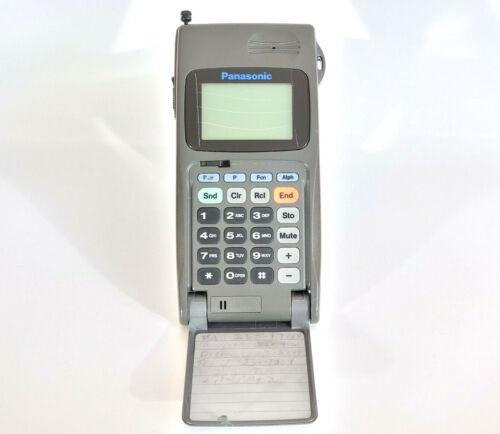 PANASONIC EB-3520 - MOBILE PHONE BRICK CELL VINTAGE RETRO RARE COLLECTABLE FLIP