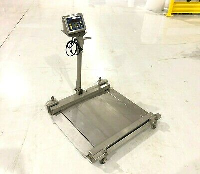 Fairbanks H23-2512 Rolling Drum Scale H90-5200 Stainless 30x30 1000lbs 450kg