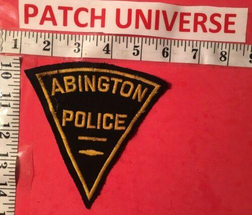 ABINGTON  POLICE  SHOULDER PATCH   S013