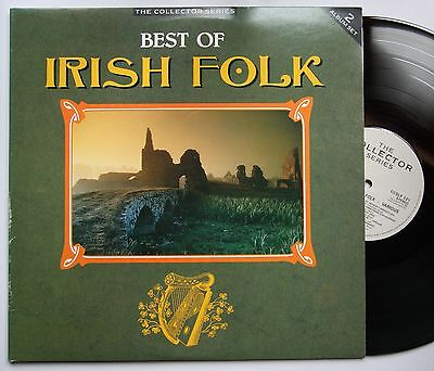 The Best Of Irish Folk UK 1989 2LP FOC Dubliners Glenside Ceilidh Band Na