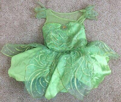 Peter Pan Costume Girl (Disney Store girl's Tinkerbell Tinker Bell S 5/6 costume dress up Peter)
