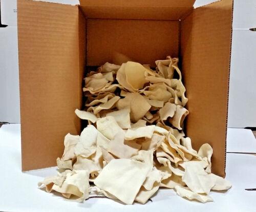 American Buffalo Rawhide Small Chips   3 lbs Bulk   100% Natural  Rawhide Chews