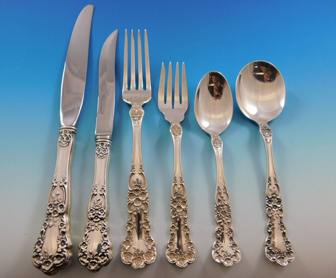"""Buttercup by Gorham Sterling Silver Fish Fork 4-Tine 6 1//2/"""""""