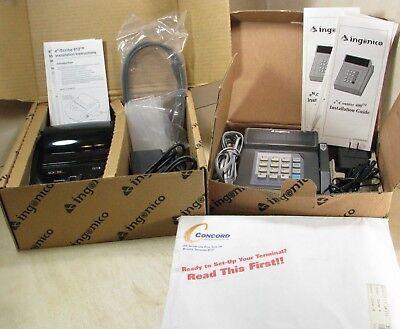 Ingenico En-counter 400 Retail Pos Terminal En-scribe 612 Thermal Printer