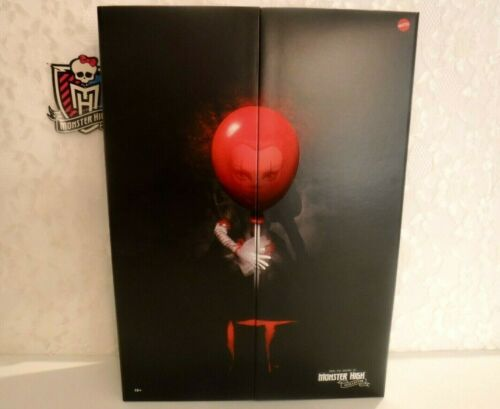 Monster High It Pennywise Collector Doll New Sealed 12 inches By Mattel