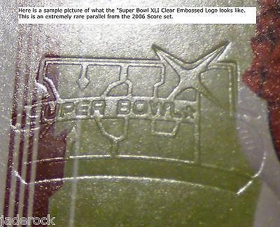 DeAngelo Williams 2006 Score Rookie Super Bowl XLI Embossed Logo 334 RARE RC - $30.34