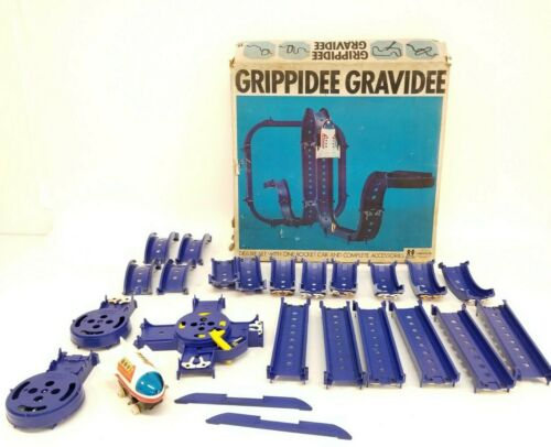Vintage Tomy GRIPPIDEE GRAVIDEE Rocket Car Set w/Original Box - TP-906