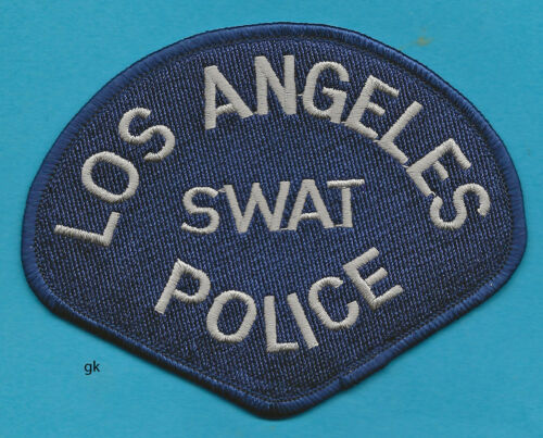 LOS ANGELES CALIFORNIA  SWAT POLICE SHOULDER PATCH