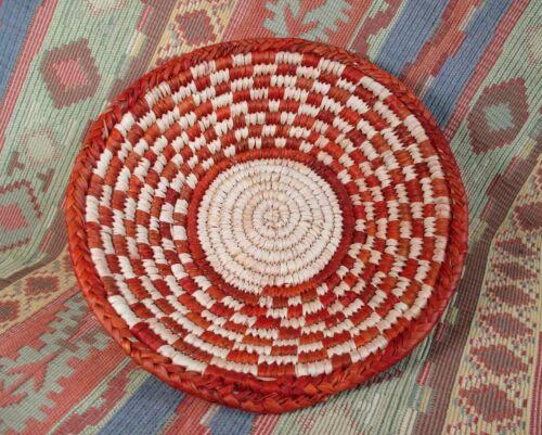Southwestern Style Basket   Medium Size Basket  Geometric Design   over 8 inches