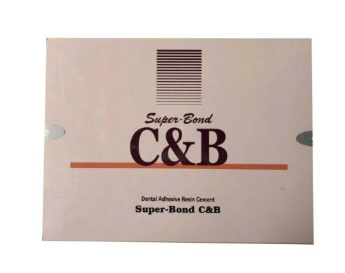 Sun Medical Super Bond C&B Self Curing Adhesive Resin Cement Dental Material