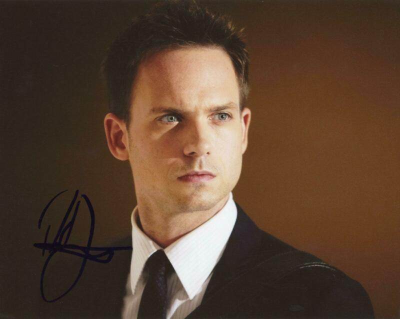 "Patrick J. Adams ""Suits"" AUTOGRAPH Signed 8x10 Photo C"