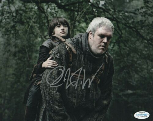 Isaac Hempstead Wright Game of Thrones Autographed Signed 8x10 Photo ACOA MA13