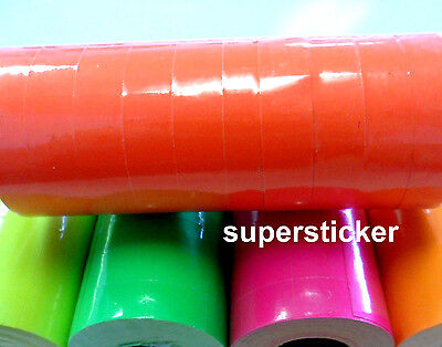 Red Price Tags For Mx-6600 2 Lines Gun 1 Tube X 13 Rolls X 500