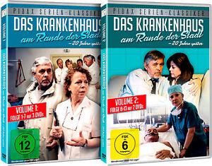 Gesamtedition- Das Krankenhaus am Rande der Stadt - 20 Jahre später 5 DVDs Pidax