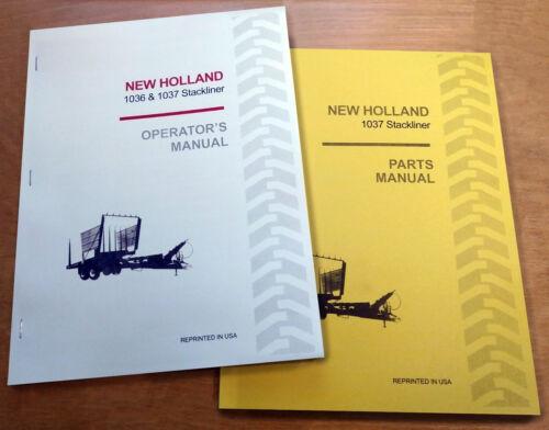 New Holland 1037 Stackliner Operator