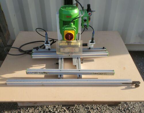 Grass Eco Press P pneumatic hinge boring machine w/ Grass Ram Drawer Press