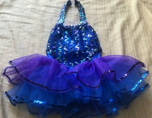 A Wish Come True Dance Costume under the Sea Small Size 5-7 Years  USA