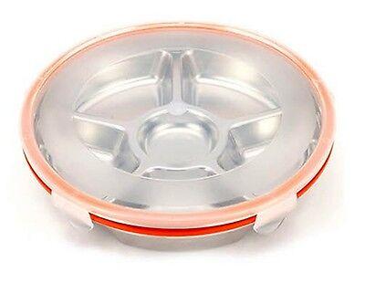 Stenlock Stainless Steel Lunch Box Round Side Dish No. 4 Food Container Storage