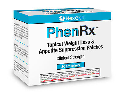 PhenRx Topical Weight Loss Patches Increase Metabolism and Thyroid Activity!