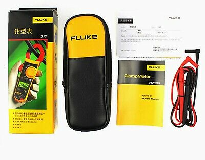 Fluke 319 Digital Clamp Meter 600v 1000a Count  F319 Brand New With Soft Case
