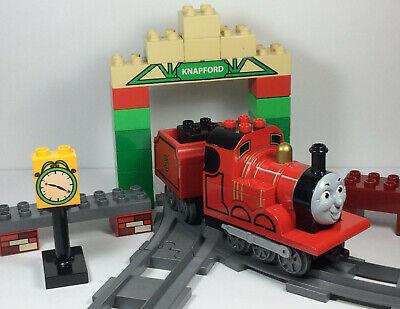 Lego Duplo Thomas The Tank Engine James At Knapford Station 5552 train track set