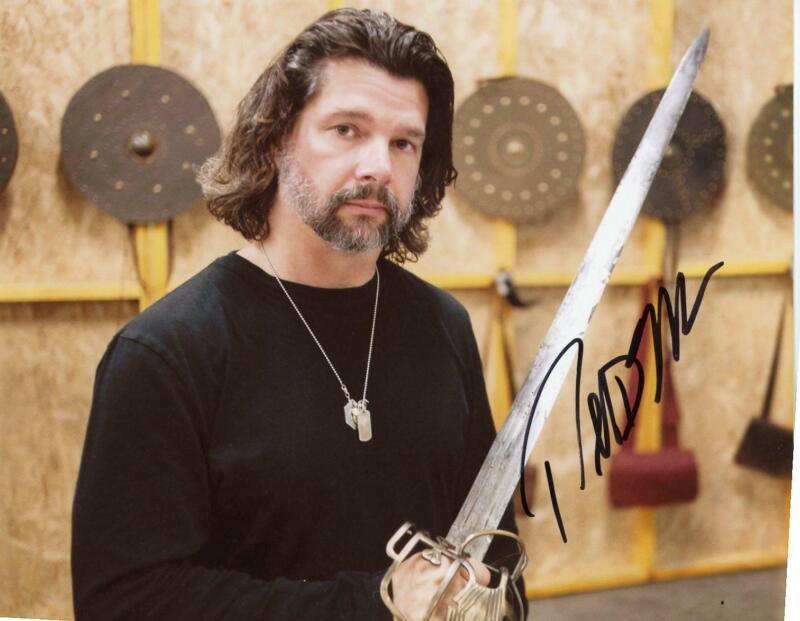 "Ronald D. Moore ""Outlander"" Producer AUTOGRAPH Signed 8x10 Photo B"