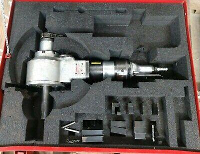 Prepzilla Millhog Pneumatic Pipe Beveling Machine. Esco Tool Co. Tested