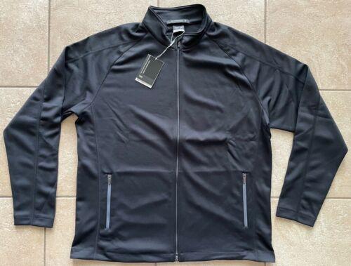NIKE GOLF Tiger Woods Dri-FIT Full-Zip Ultralight Jacket-Black-Large-NWT