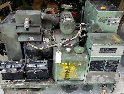 Mep 002a Military 5kw Onan Diesel Generator Single And 3 Phase Air Cooled