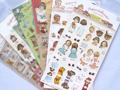 Paper Doll Mate Transparent Sticker Sheet (Your Choice of Design)~KAWAII!!!