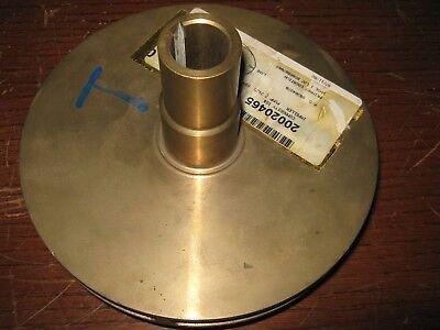 1 Pc Flowserve Bronze Pump Impeller 2evt3bx1 7.3125 Diameter New