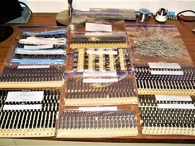 Large Lot Of 2330 Radial And Axial Electrolytic Capacitors Assortment