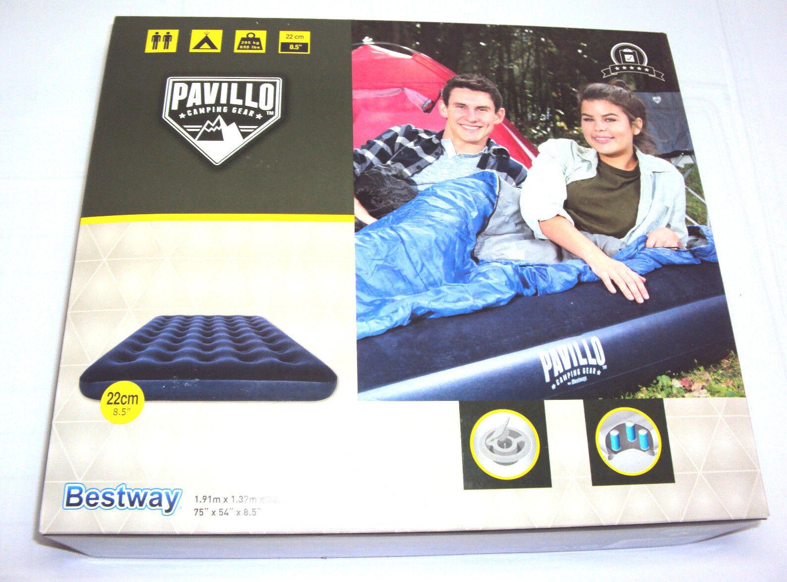 Bestway Pavillo Luftbett Full Size 2 Personen  Luftmatratze, 191 x 137x 22cm