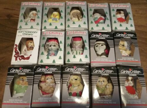 Jasco Chimer Ornaments Caring Critters, Soft