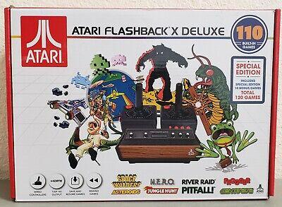 Atari Flashback X Deluxe Retro Console 120 Built-in Games