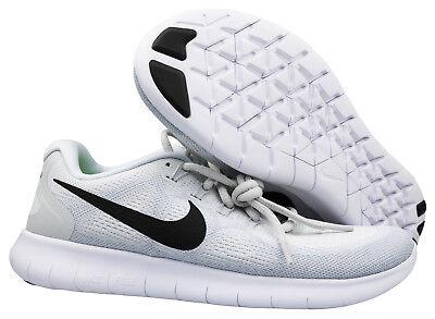Nike Wmns Free Rn 2017 Damen Sneaker Turnschuhe 880840-101 weiß Gr 36,5 - 38 NEU