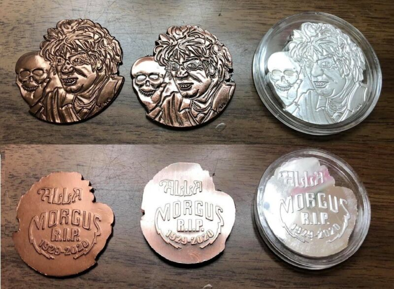 MORGUS THE MAGNIFICENT Commemorative Doubloon Set Humane Society Fundraiser.999