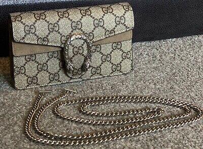 Gucci Dionysus GG Super Mini Bag 476432 RRP: £580 *IMMACULATE*