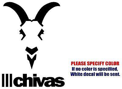 "CHIVAS Mexico soccer football JDM Vinyl Decal Sticker Car Window Wall Bumper 7"""