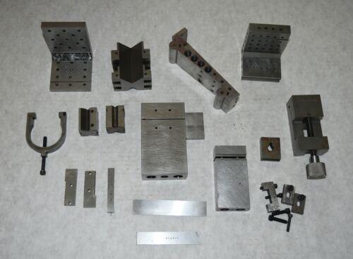 Machinist Setup Block Lot Fixtures Workholding Wedges Assorted Tools (Lot 2)