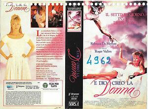 E-DIO-CREO-039-LA-DONNA-1988-vhs-ex-noleggio