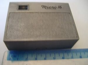 Collectible Micro 16 Subminiature Spy Camera, 1940's