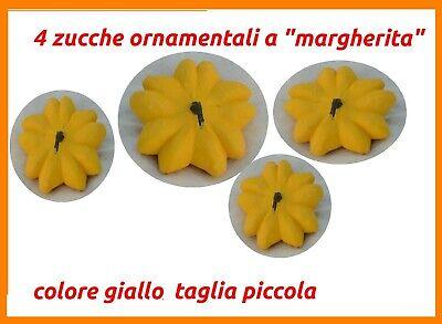 Zucche ornamentali decorative di Halloween zucca per arredamento pumpkins 4MGp3