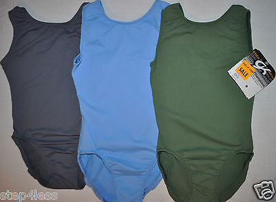 GK Elite adult XS or small-  olive green  Gymnastic  stock practice  Leotard- ](Adult Green Leotard)