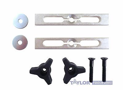 2 Piece Expandable Miter Gauge Slot Jig And Fixture Hold Down Kit T Track Lflk