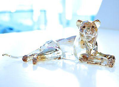 Swarovski 2016 SCS Lion Mother Golden Wild Animal Signed 5135895 Brand New Box