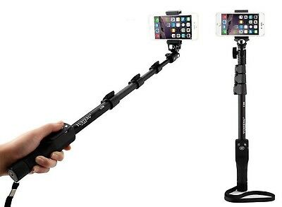 Yunteng ® YT-1288 - Selfie Stick with Bluetooth Remote For Motorola Smartphones