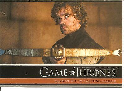 Game of Thrones Season 4 Promo Trading Card #P1