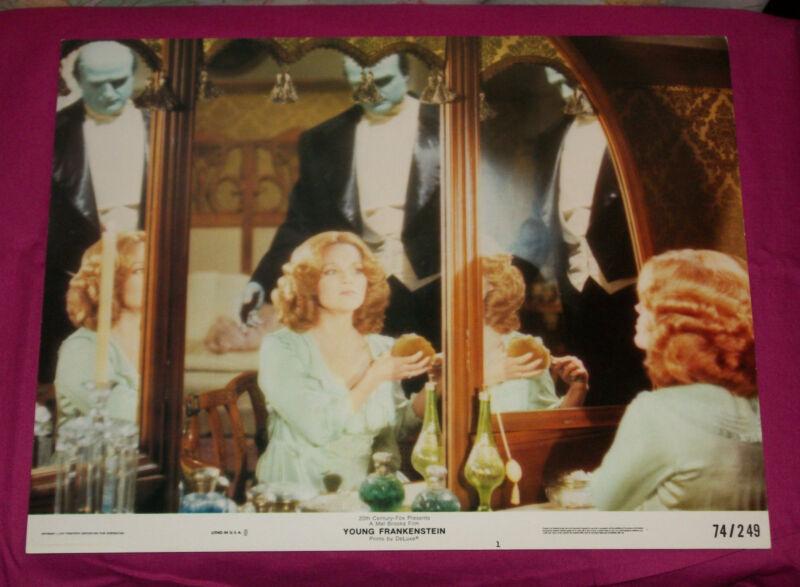 original YOUNG FRANKENSTEIN lobby card #1 Peter Boyle Madeline Kahn Mel Brooks